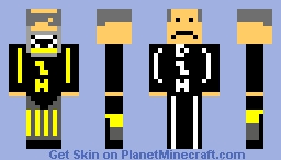 Jimmy Jiminson (D.Z.H Work Uniform) Minecraft Skin