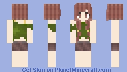 Fall Palette Inspired Skin Minecraft Skin
