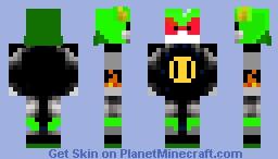 Metal Scourge Minecraft Skin
