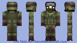 Little Green Man Minecraft Skin
