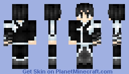 Kirito Elite Swordsman. [Alicization Turning] Sao Alicization Series~ 1.8 Minecraft