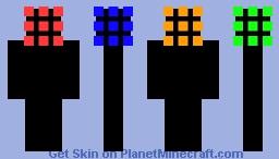 Rubik's Cube Man