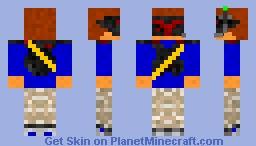 army robot Minecraft Skin