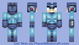 Mega Man ( ロックマン) Minecraft Skin