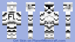 Clone Trooper FL Minecraft Skin