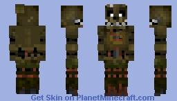 FNAF 3 Springtrap Minecraft Skin