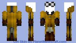 Male Hufflepuff Quidditch Robes (Updated) Minecraft Skin