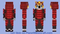 Koala Samurai Minecraft Skin