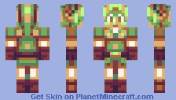 Link ~ Legend Of Zelda Minecraft Skin
