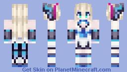 ʚïɞ Lumen-Azure Striker Gunvolt ʚïɞ Minecraft Skin
