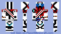 Kamen Rider Mach (Dead Heat Mach) Minecraft Skin