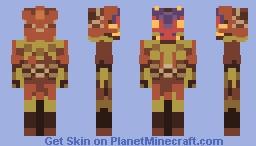 Majora's Mask - Skull Kid Minecraft Skin