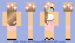 [ORIGINAL] Girl with Short Summer Dress Minecraft