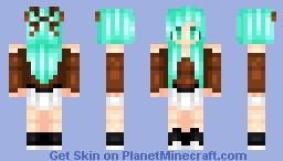 Minty Minecraft Skin