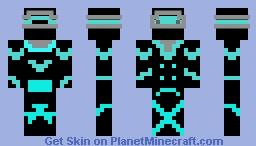 Blue Ninja Minecraft Skin