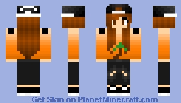 Request #3 palm tree skater girl Minecraft Skin