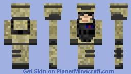 Modern Desert Soldier