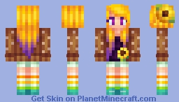 Sunflower Storm ☼ Minecraft Skin
