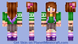°ƒ¡rε° To the Skinners who Inspired me [Popreel] Minecraft Skin