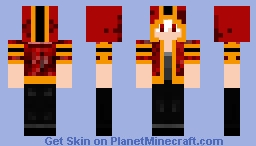 Another Freakin' Anime Inspired Hoodie Person But Albino. Minecraft Skin
