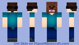 Bacca-loving Steve Minecraft Skin