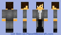 Doctor Who Inspired Skin Minecraft Skin