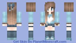 Im getting into this.... Minecraft Skin