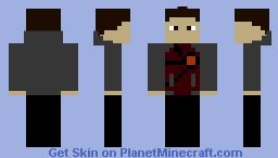 Firestorm (CW) Minecraft Skin