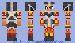 Dragonica Gladiator Minecraft Skin