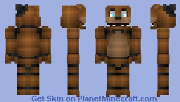 Freddy - 1.8 revision  (Better in 3D (Five Nights At Freddy's)) Minecraft Skin