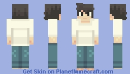 L Lawliet - Death Note Minecraft Skin