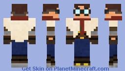 Desert Tomb Spelunker Minecraft Skin