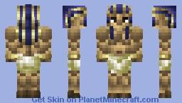 The Great Pharaoh |Desert Skin Contest| Minecraft Skin