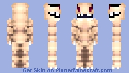 [The Creature Beneath the Sand] R'khar Minecraft Skin