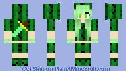 Cactus Warrior Girl