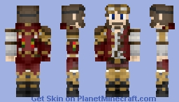 Steampunk skin for Lucas Minecraft Skin