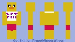 Toy Chica Minecraft Skin