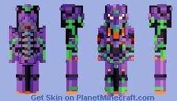 Unit 01 - Neon Geneisis Evangelion Minecraft