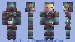 Gas Masked Man - Destiny inspired (?) Minecraft Skin
