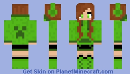 Creeper Girl Minecraft