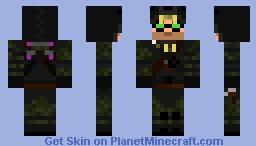 Evolve - Crow Minecraft Skin