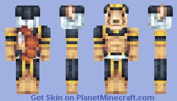 The Scorpion King [3rd Place] Minecraft Skin