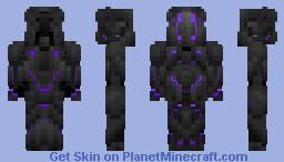 Epic Robot//: Ender Knight (A remake of Epic Robot/ Ender Edition) Minecraft Skin
