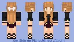 Inspiration from a friend :P Minecraft Skin