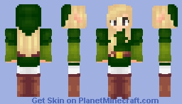So orginal female Link skin omg Minecraft Skin