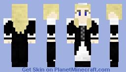 Some kinda maid. Bleh. Minecraft Skin