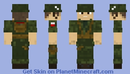 Military Soldier: Paratrooper - apocalypse skin series