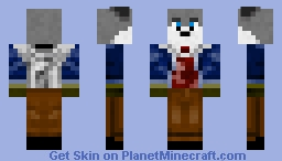 The Wolf Wood choper Minecraft Skin