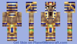 ● Minecraft   Pharaoh ● Minecraft Skin
