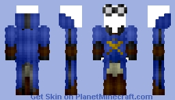 Puddlemere United Quidditch Robes (Updated!) Minecraft Skin